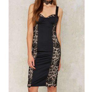 Nasty Gal 9 dark habits lace dress